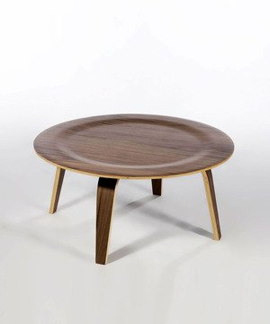 Charles Coffee Table in Real Walnut Veneer