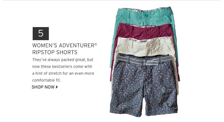 Adventurer® Stretch Ripstop Shorts