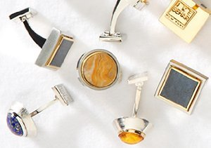 Finishing Touches: Cufflinks, Money Clips & More