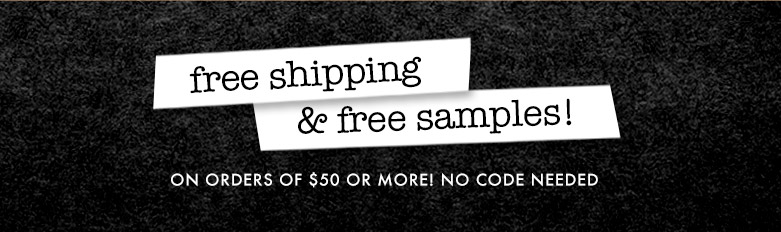 freeshipping and samples