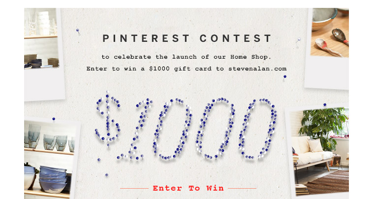 Enter Pinterest Contest