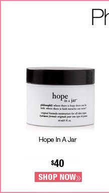 Hope In A Jar $40. Shop Now.