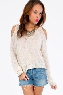 Shoulder The Way Out Sweater $32
