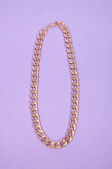 Chain Link Necklace $8