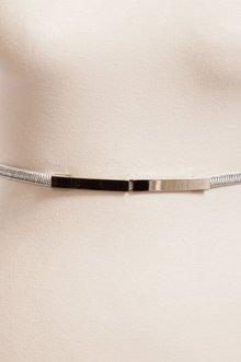 Thin Elastic Flat Buckle Belt $7