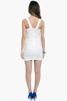Gloria Low Cut Bodycon Dress $33