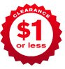CLEARANCE $1 or less