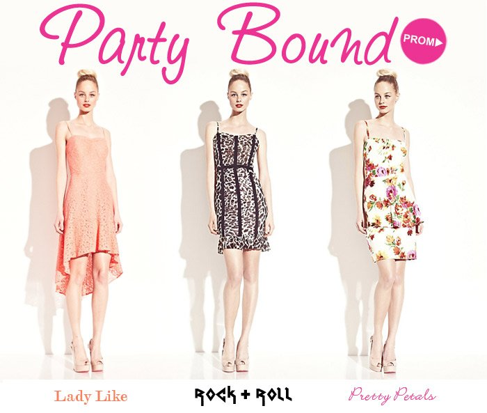 Party Bound! Shop Prom