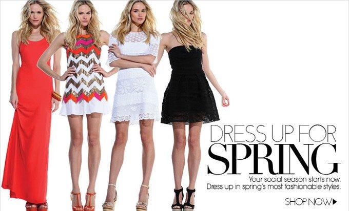 Dress Up Spring