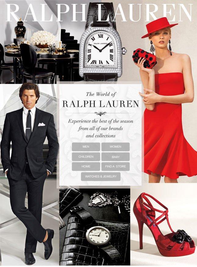 The World of Ralph Lauren