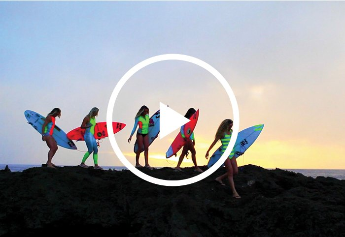New Surf Capsule Featuring - Courtney Conlogue, Alessa Quizon, Frankie Harrer, Ellie-Jean Coffey, Justine Dupont, Lindsay Perry
