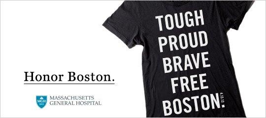 Honoring Boston Tee
