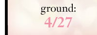 ground: 4/27