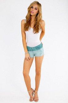 Oceanic Cutoff Shorts $35