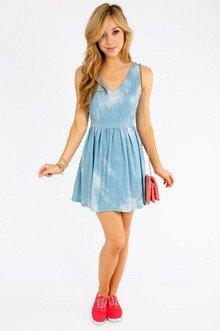 Trading Sam Skater Dress $36