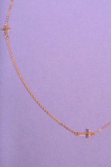 Cross Necklace $10