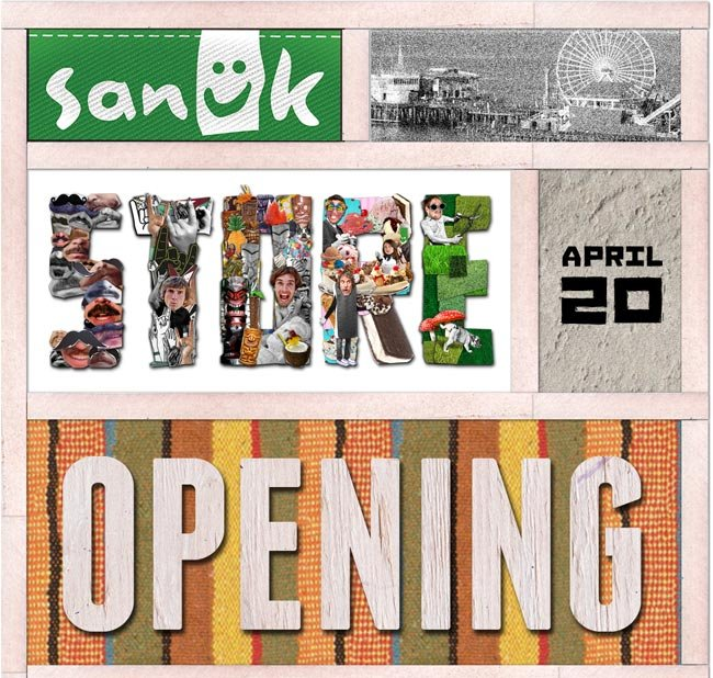 SANUK STORE OPENING - April 20. Show this email at the door and get a free gift!
