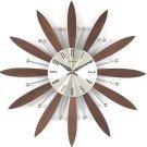 Walnut Bloom Clock