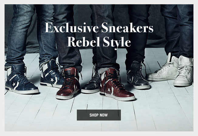 Exclusive Sneakers Rebel Style