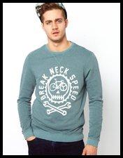 ASOS Sweatshirt With Fix Great Print