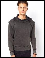 ASOS Sweatshirt With Love Hate Print