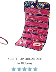 Keep It Up Organizer in Ribbons