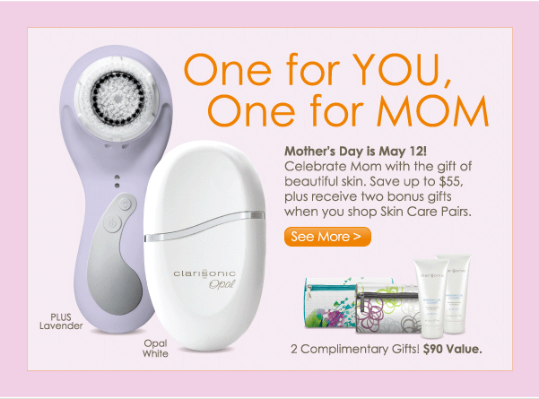 Save up to $55, plus receive two bonus gifts when you shop Skin Care Pairs.