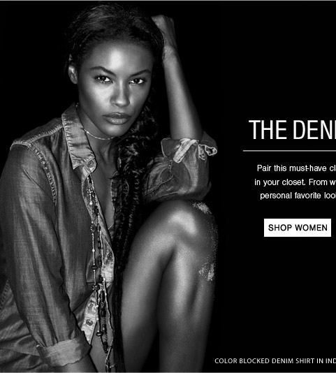 The Denim Shirt - Shop Women