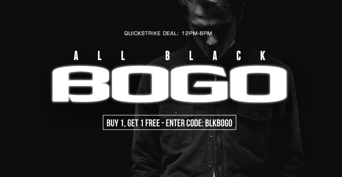All Black Everything Sale