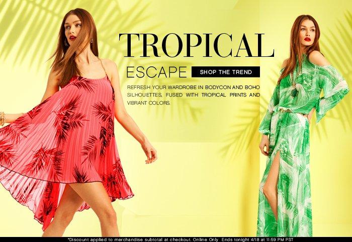 Shop The Trend | Tropical Escape