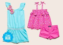 Her Sunny-Day Uniform Bright Clothing for Girls