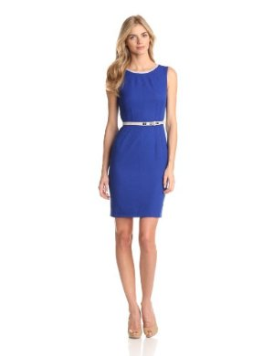 Anne Klein<br>Belted Solid Dress