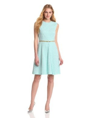 Evan Picone<br>Eyelet Dress