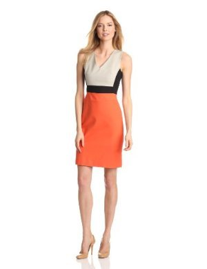 Kenneth Cole<br>Color Blocked Dress
