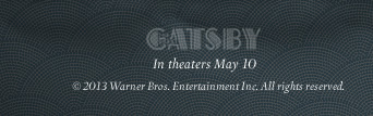 """The Great Gatsby"" - In theaters May 10 - © 2013 Warner Bros. Entertainment Inc. All rights reserved."
