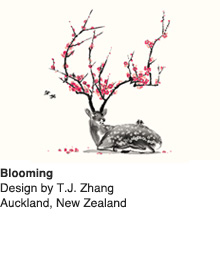 Blooming - Design by T.J. Zhang / Auckland, New Zealand
