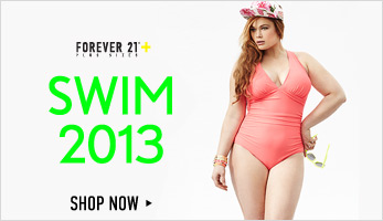 Forever 21 Plus: Swim 2013 - Shop Now