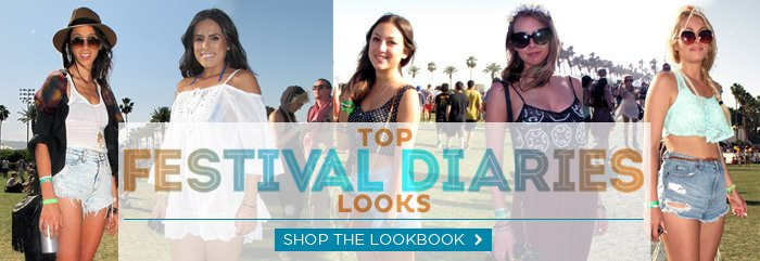 Shop the Festival Diaries Lookbook
