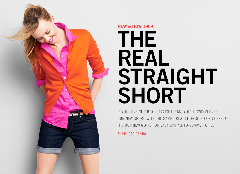 NEW & NOW 1969: THE REAL STRAIGHT SHORT | SHOP 1969 DENIM