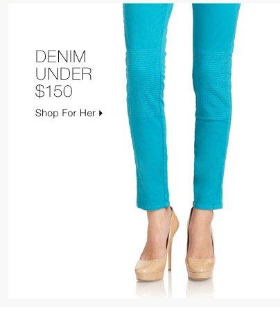 Denim Under $150