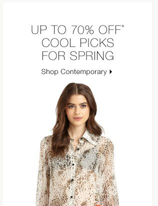 Up To 70% Off* Cool Picks For Spring