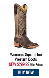 Cinch Women's Square Toe Western Boots