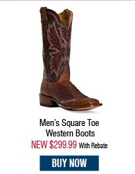 Cinch Men's Square Toe Western Boots