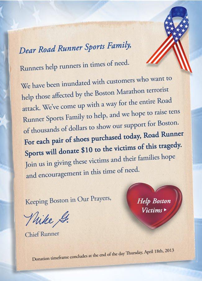 Help Boston Victims