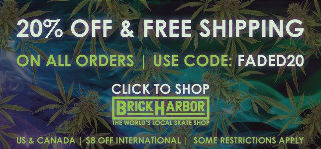 Brick Harbor: 20% Off + Free Ship Use Code: FADED20