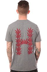 The Leaves Tee in Grey