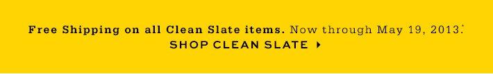 Shop Clean Slate