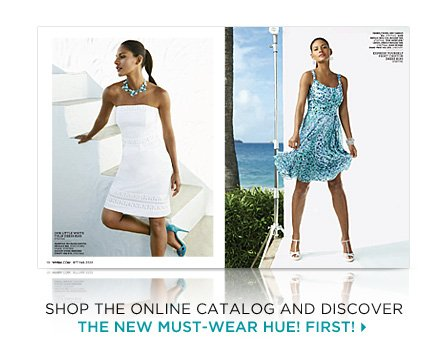 Shop the online catalog & discover the new must-wear hue first!