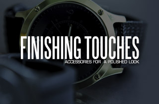 Finishing Touches