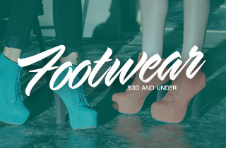 Footwear: $30 and Under